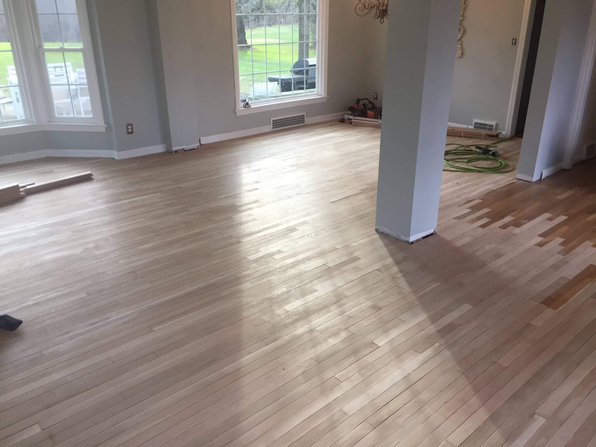Flooring Refinish and Stain