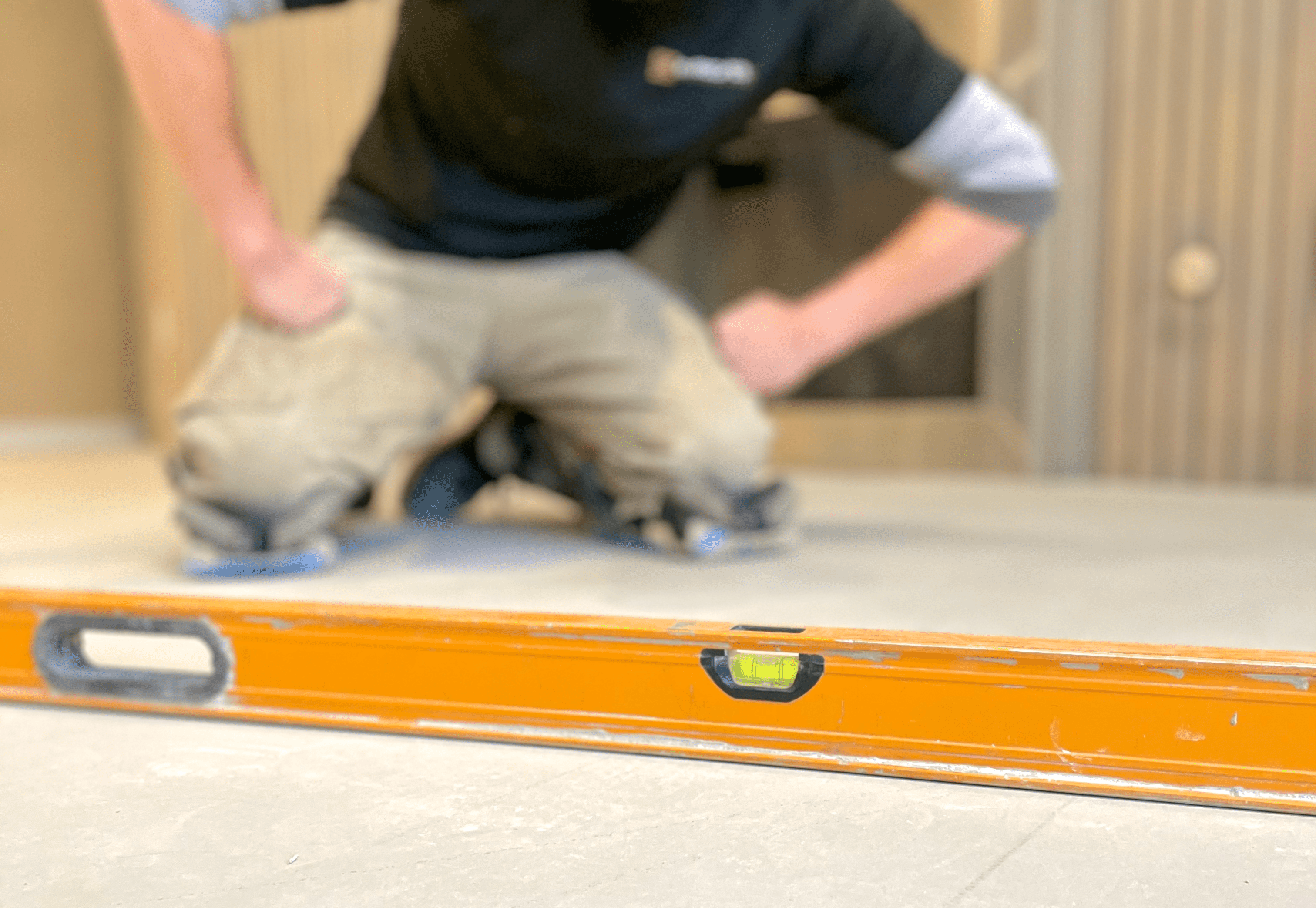Floor leveling services