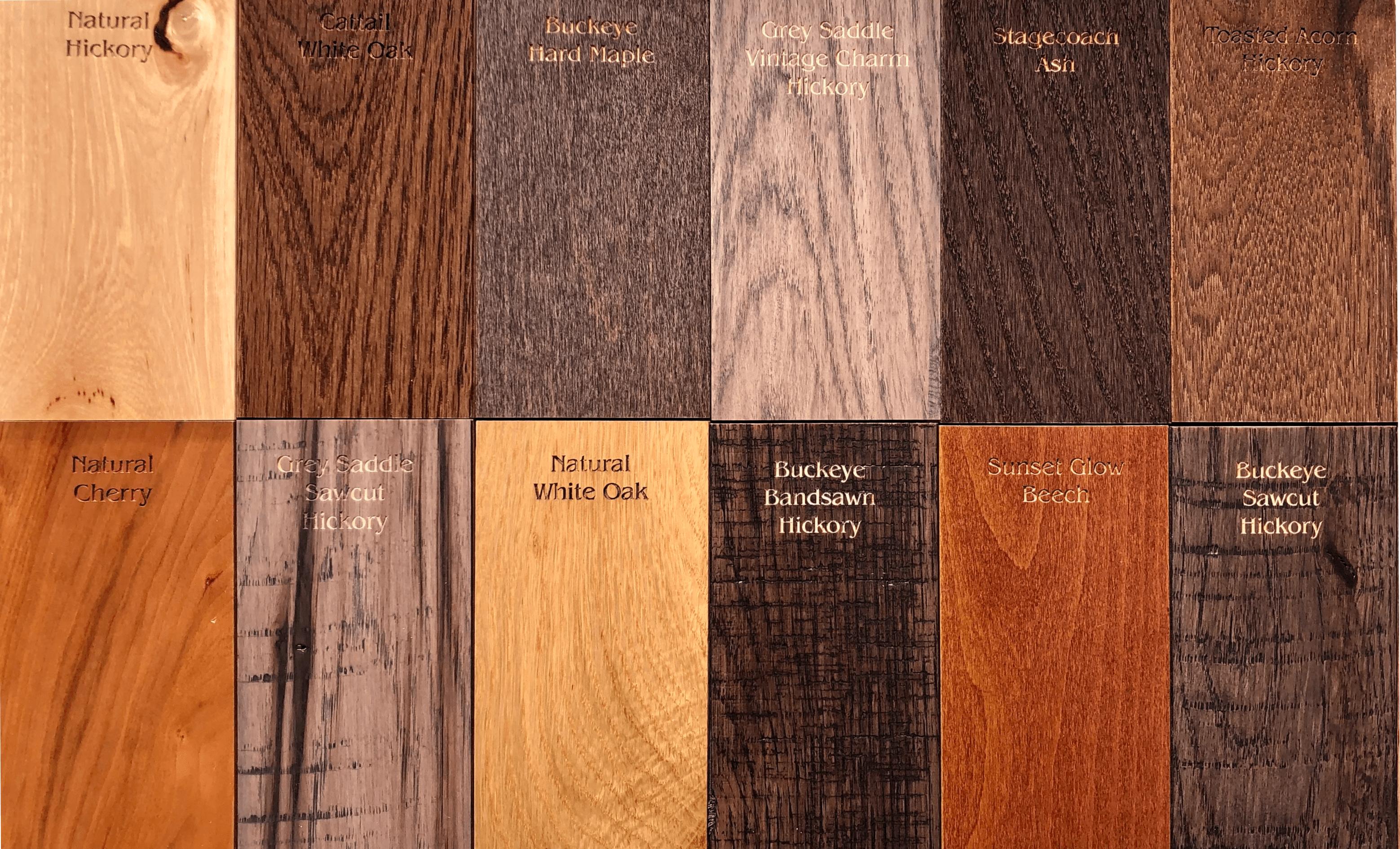 Solid Hardwood Options